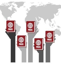 Passport identification vector