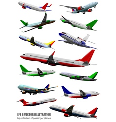 Al 0618 plane collection vector