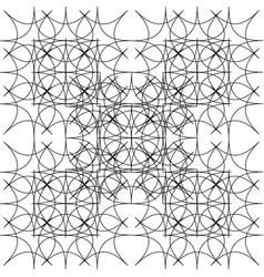 Fractal of rhombuses vector
