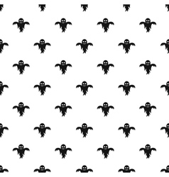 Ghost pattern simple style vector image