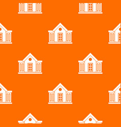 Mansion pattern seamless vector