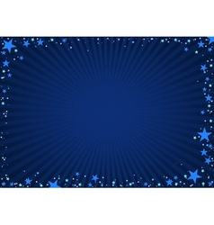 Star frame vector