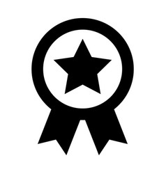 American medal with star vector
