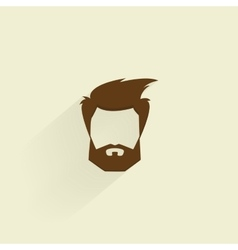 Abstract hipster symbol vector