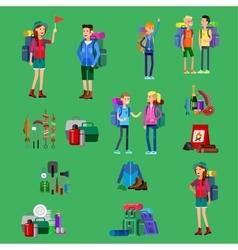 Kids summer camp vector