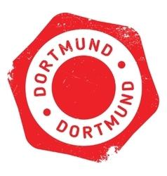 Dortmund stamp rubber grunge vector