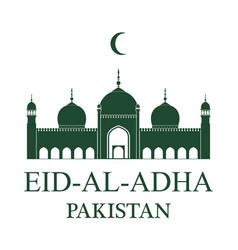 Eid al adha pakistan vector