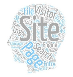 Log file analysis and seo text background vector