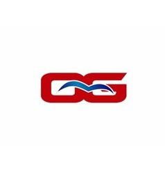 Og letter logo vector
