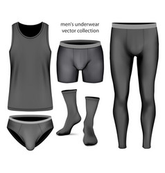 Underwear collection vector