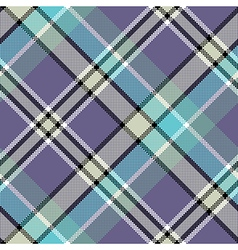 Cool color diagonal fabric texture pixeled vector