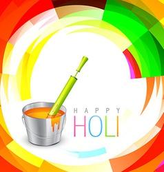 Holi festival background vector