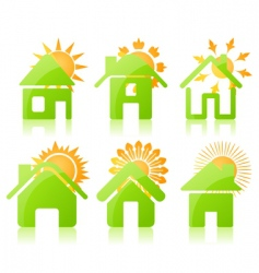 house icon3 vector image