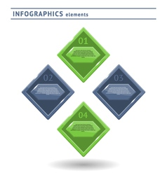 Infographics elemets vector image vector image