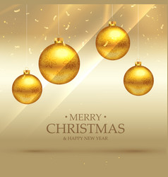 Premium christmas celebration background with vector