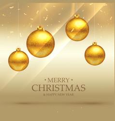 Premium christmas celebration background with vector