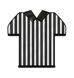 Referee uniform design vector