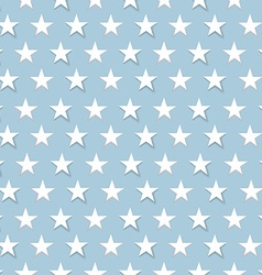 Amazing vintage colorful star blues pattern vector image