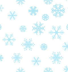 Beautiful snowflakes background vector
