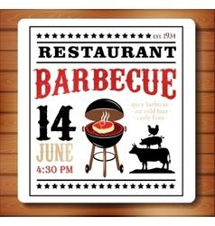 Vintage meat logos badges vector image