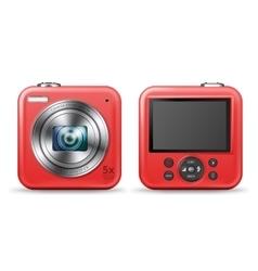 Easy camera icon vector