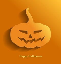 Pumpkin flat vector