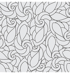 Seamless Pattern with Spirals vector image