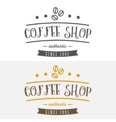 Set of vintage labels emblems and logo templates vector image vector image