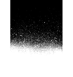 Spray painted gradient detail in white over black vector