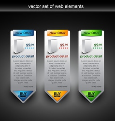 Web banner sale vector