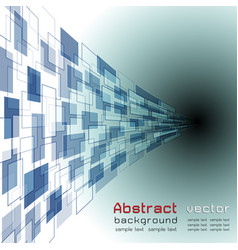 abstract background with blue colorcurve objects vector image