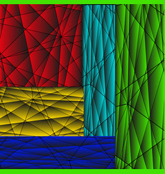 a set of backgrounds from three-dimensional vector image