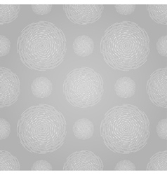 Abstract seamless spiral design pattern circular vector