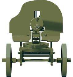 Maxim machine gun vector