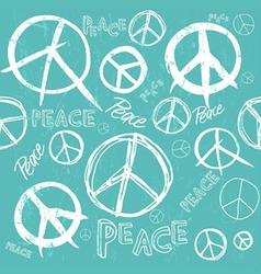 Peace sketch vector