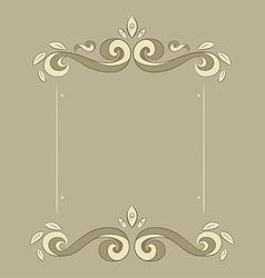 frame patterns vector image