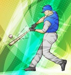 Baseball Batter vector image