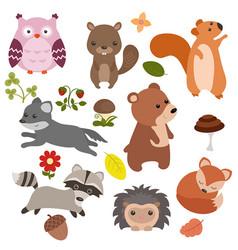 Forest animals forest animals vector