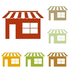 Store sign vector image vector image