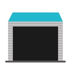 building warehouse storage icon vector image