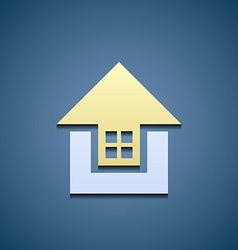 Icon real estate vector