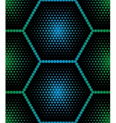 Hexagon texture vector