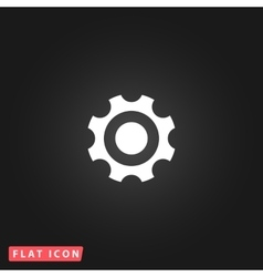 Bearing flat icon vector image vector image