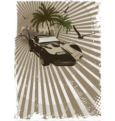 exotic car vector image vector image