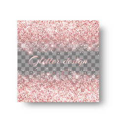 Flare pink background vector