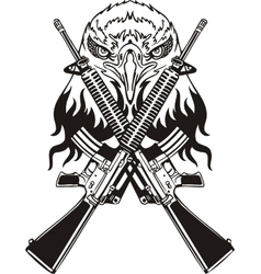 Military Design - vinyl-ready vector image