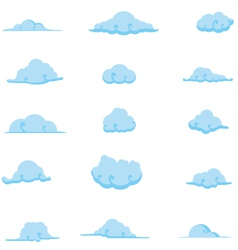 Cloud collection 7 vector