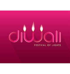 Diwali design vector