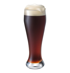 Dark beer vector