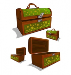 chests vector image vector image